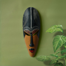 Hot Retro Resin Exotic African Masks Portraits Hanging Wall Mural Wall Hanging Ornaments Home Accessories