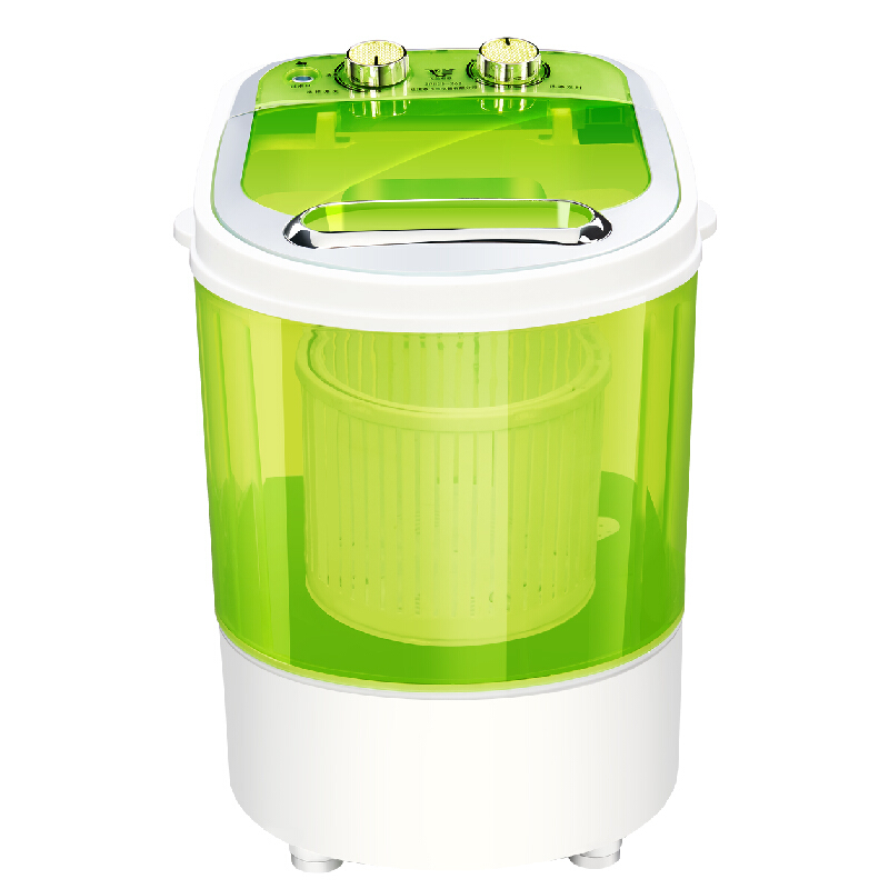 Mini Hand Shake Washing Machine Fully-automatic 3KG Household Small Baby Wave Wheel Compact Washing Machine Home Travel Dual Use