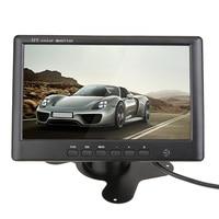 7 Inch HD 800 X 480 7 Inch Color TFT LCD DC 12V Car Rear