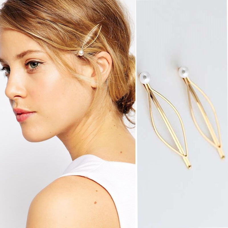M Mism Ins Hot Korean Fashion Crystal Elegant Hairpins Hair Clips Women Girl Geometric Waterdrop Hair Accessorie Para El Cabello Back To Search Resultsapparel Accessories