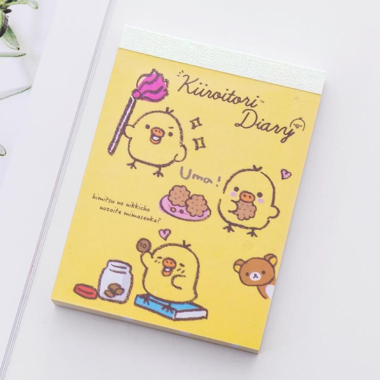 BLINGIRD 4 styl Kreativní Cute Chick Cover Student Office - Bloky a záznamní knihy - Fotografie 6
