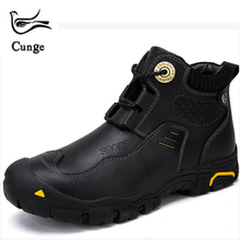 Cunge Top Fashion Olahraga Sepatu Bot Klasik Anti Slip Sendok Menolak  Memakai Sepatu Hiking Rhubarb Martin 576d402ef4