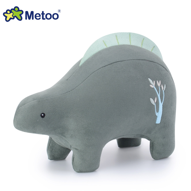 Sweet Cute Dinosaur Kawaii Plush Stuffed Animal Cartoon Kids Toys for Girls Children Baby Birthday Christmas Gift Metoo Doll wl toys 6ch rc helicopter wl xk k110 k123 k124 x350 remote control transmitter spare parts backup parts