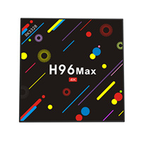 H96 Max H2 Android 7.1 Smart TV Box 4G/32G Wifi Quad Core 4K HD Media Player NEW