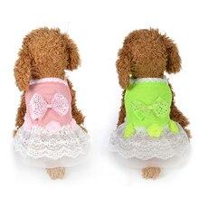 Летняя юбка принцессы с изображением собаки Милая модная кружевная Свадебная юбка Детское платье Костюмные принадлежности XS, S, M, L, XL