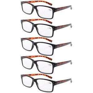 Image 3 - R032 окуляр 5 pack пружинные петли винтажные очки для чтения мужские включает в себя солнечные считыватели + 0,00     + 4,00