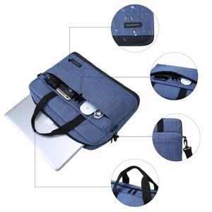 Image 3 - BAGSMART 15.6 Inch Laptop Briefcase Bag Handbag Nylon Briefcase Office Bags Business Computer Bags Blue