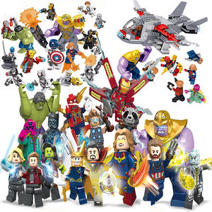 minifigured super heroes building blocks mini figures