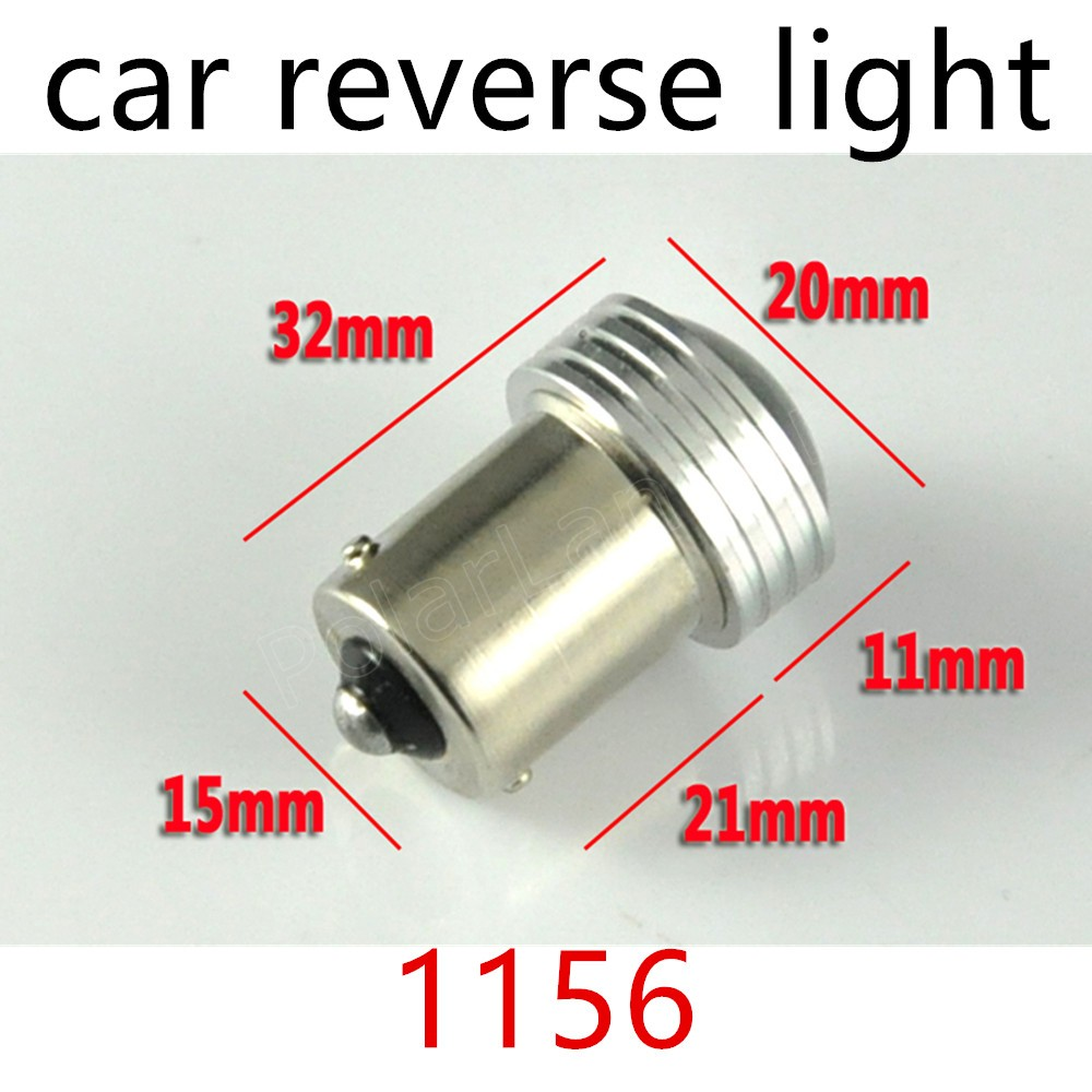 high power 2 pieces 6SMD White 2835 BA15S S25 6 Led Car Auto Source Backup Reverse Parking Lamp Bulbs DC12V 1156 1157 to choose