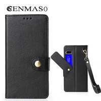 For Meizu Pro 7 Genuine Leather Flip Case 5 2 Inch Luxury Litchi Pattern Protective Cover