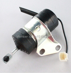 For Kubota Fuel Shut Off Solenoid 16851-60010, 16851-60014, 052600-4531 for Denso B7410D BX1500D BX1800D