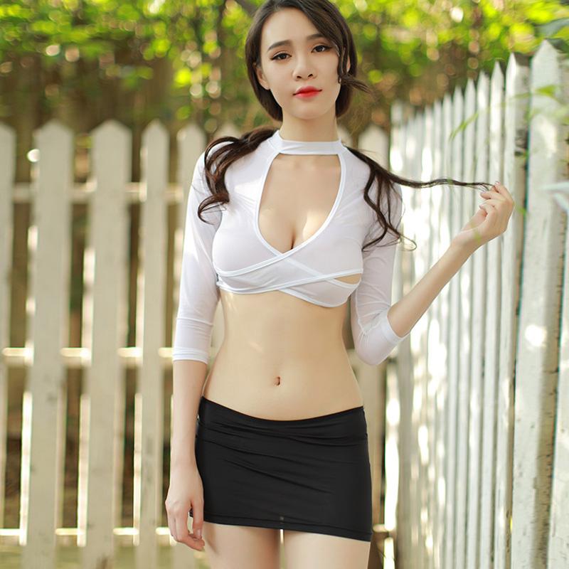 65897201d2324 Kostüm-Cosplay-Uniformfrauen Verbandssekretärin reizvolle Kostüme Spitze  Minirock Sexy Wäsche cosplay Unterwäsche-Nachtzeug
