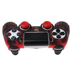 Image 4 - 7 Colors Anti Slip Silicone Protective Skin Case For PlayStation 4 PS4 DS4 Pro Slim Controller Thumb Stick Grip Caps
