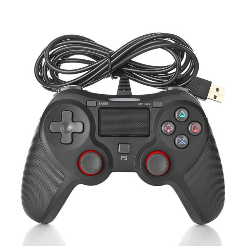 Dual Vibration Gamepad For Playstation 4 PS4 Wired Controller Controle Joystick For Sony PS 3 Game Controller Gamepad Joypad