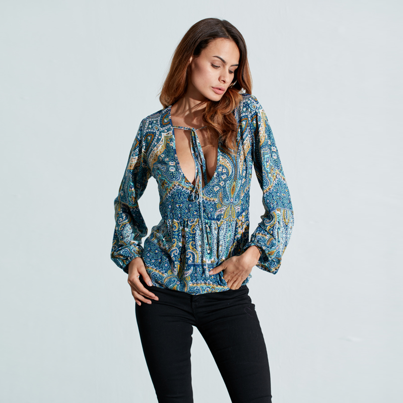 Popular Hippie Blouse Buy Cheap Hippie Blouse Lots From