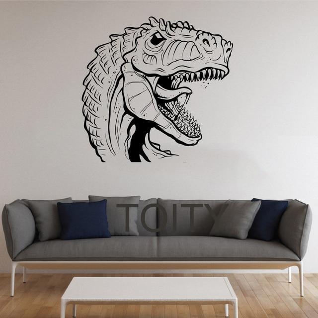 Rexes Stickers Muur Dinosaurus Vinyl Decals Nursery Decor Thuis ...