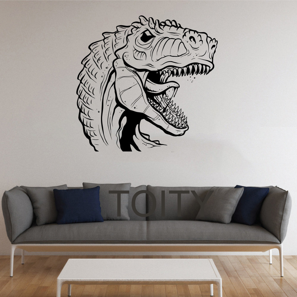 Rexes stickers wall dinosaur vinyl decals nursery decor for Wall stickers for bedrooms interior design