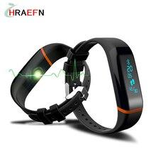 X12 Smart Band Bluetooth браслет монитор сердечного ритма SmartBand фитнес-трекер Спорт браслет для IOS Android мужские и женские часы