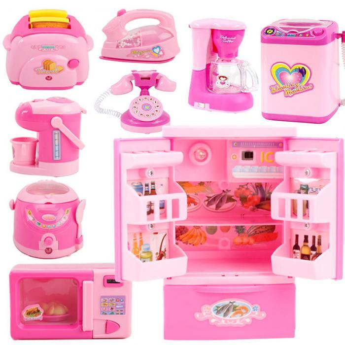 6 12 pces crianças aparelho de cozinha