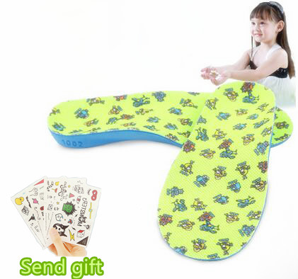 Kids Children arch support orthotic Pads Correction health font b feet b font font b care