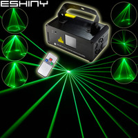 ESHINY Green 30 Laser Lines Scans Beam Remote DMX DJ Dance Bar Disco Xmas Family Party Lighting Effect Stage Lights Show N8B122