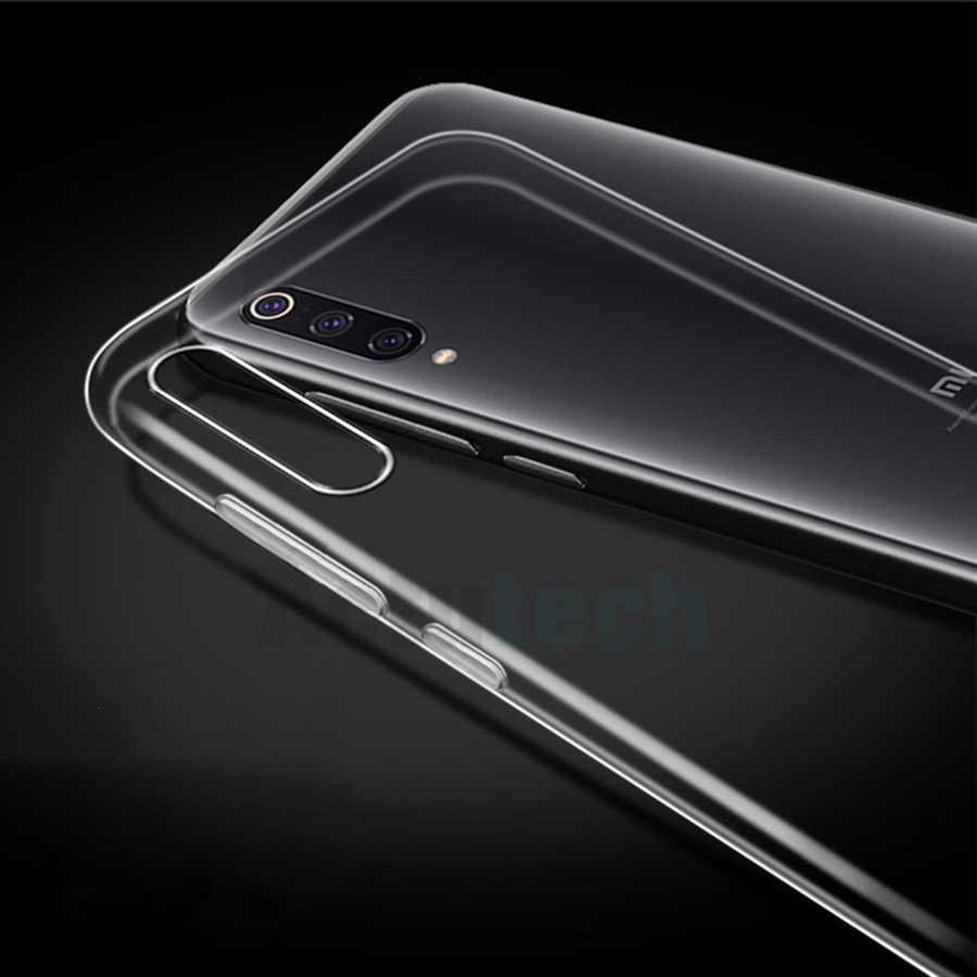 Funda transparente de TPU blando para Xiaomi Mi 9 8 SE Pocophone F1 A2 Lite Max 3 A1, funda de silicona para Xiaomi Redmi Note 7 6 Pro