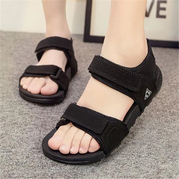 Lady sandals vietnam shoes leather sandals Female sandals 2017 outdoor lovers casual summer sandals plus size women in overalls