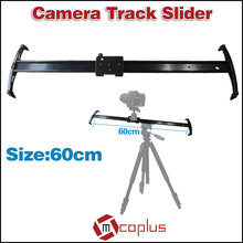"Mcoplus 24""/60cm Professional Portable Video Camera Track Dolly Slider Stabilizer System for Photography DSLR Camcorder"