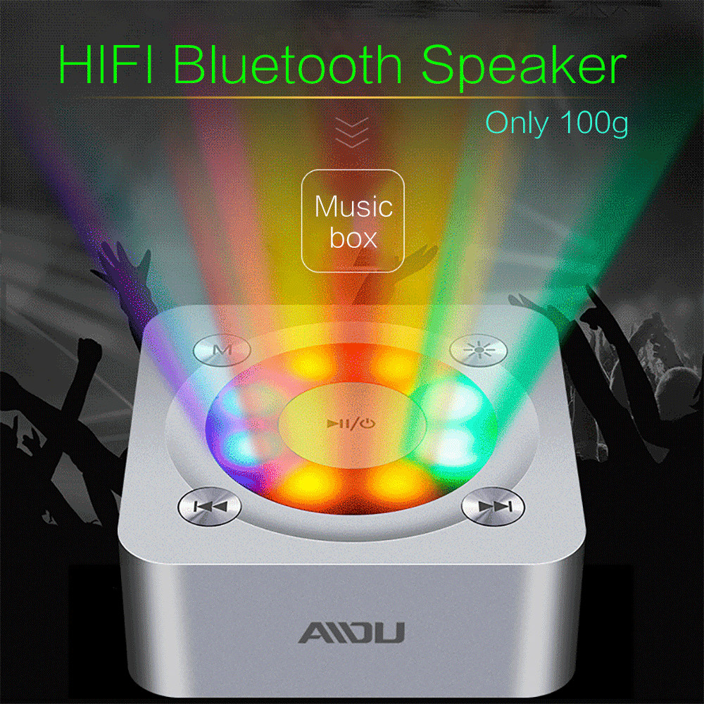 Bluetooth V3 0 EDR pc mini cool car light computer speakers for computer wireless portable speaker