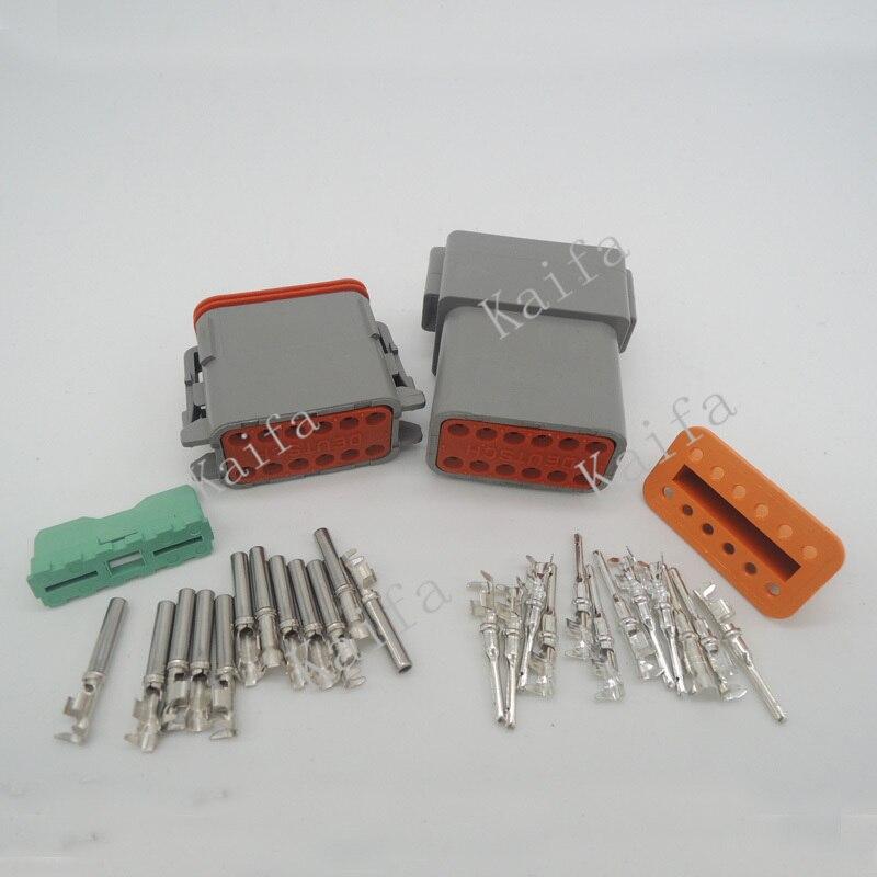 10 set kit deutsch dt 2 3 4 6 8 12 pin waterproof electrical wire  getsubject() aeproduct getsubject()