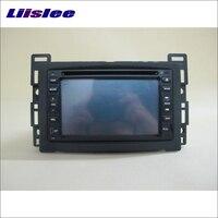 Liislee Для Chevrolet Cobalt 2005 ~ 2010 автомобильный радиоприемник стерео dvd плеер gps навигатор система двойной Din аудиоустановка набор