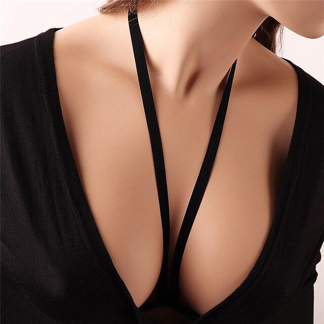 2dcfa85f5c Womens Body Harness Bra Lingerie Black Elastic Strappy Tops Cage Bondage  Underwearu Burlesque Exotic Appare Festival