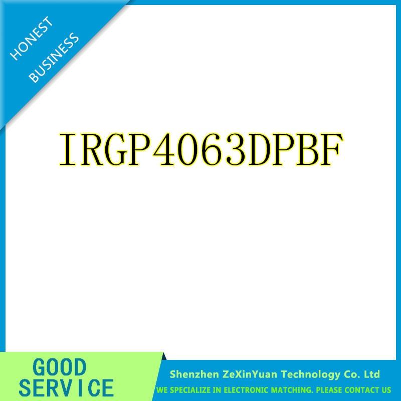 10pcs/lpt IRGP4063D IRGP4063DPBF GP4063D IRGP4063 IGBT 600V 96A 330W TO-247 IC Best quality.