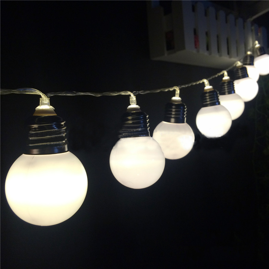 Thrisdar 10Leds 20 Leds Outdoor Solar Globe Festoon Ball LED Fairy - Мерекелік жарықтандыру - фото 2