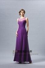 2015 vestido de festa sexy party women gown elegant evening dress new style custom purple lace long casual dress free shipping