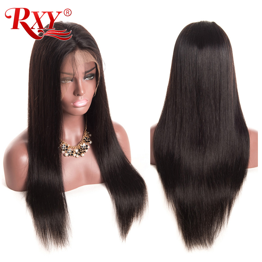 RXY Full Lace Front Human Hair Wigs For Black Women Pre Plucked Full Lace Human Hair Wigs With Baby Hair Peruvian Remy Hair Wig (10)