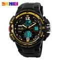 Nueva Dual Time Reloj de Pulsera Deportes de La Moda Militar Del Ejército de Los Hombres Relogio Relojes Hombres Marca de Lujo de Cuarzo Reloj Digital Hombre