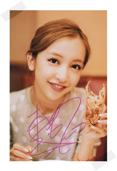 Itano Tomomi autographed signed original  photo 4*6 inches collection freeshipping 02.2017