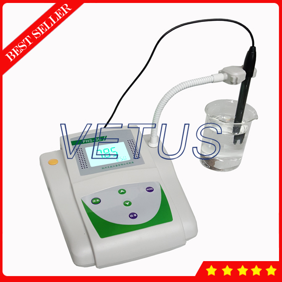 PHS-3C Microcomputer Digital PH Meter Price with portable PH Tester