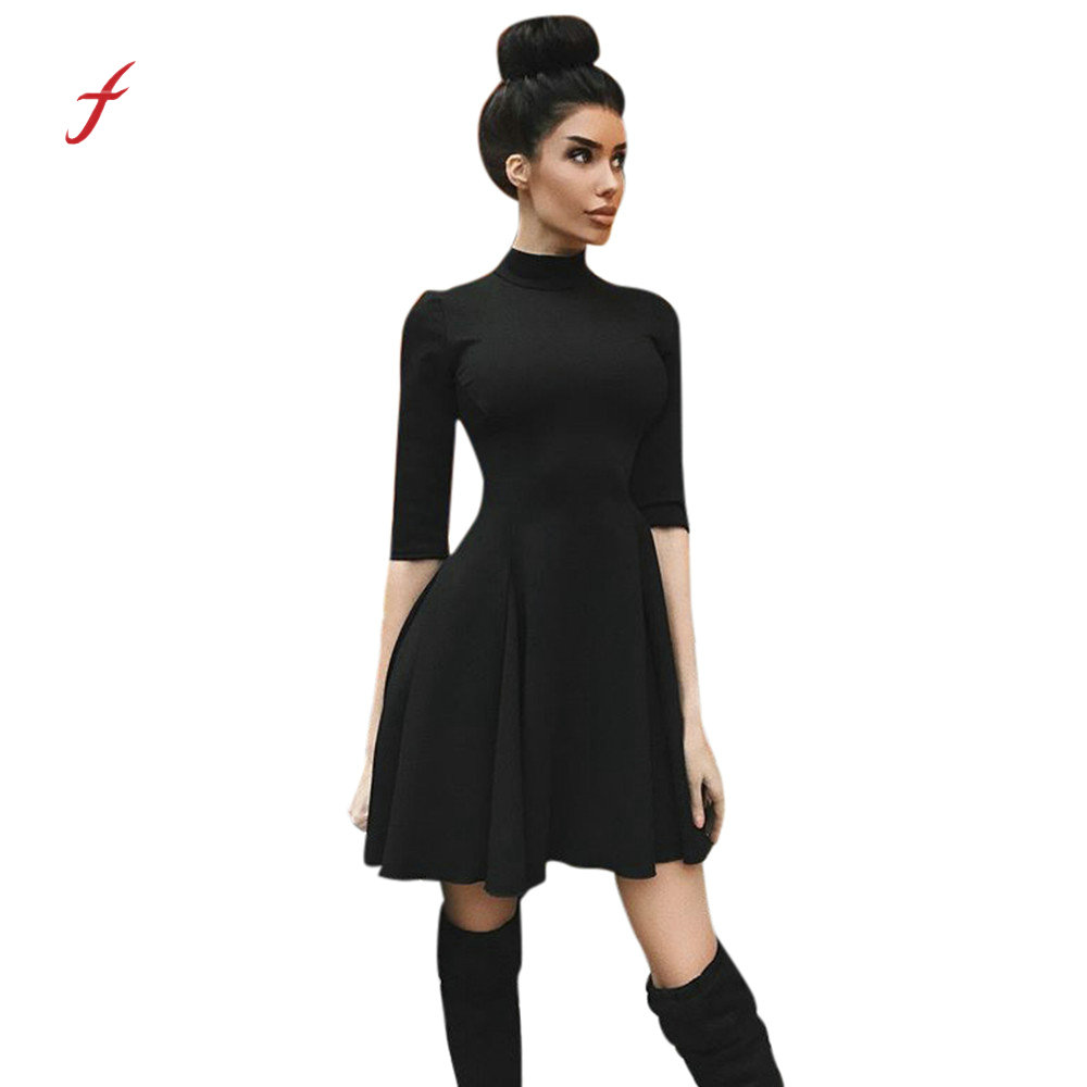 9a997952dd1ce4 2019 Sexy Off Shoulder Summer Women Dress Female Womens Holiday O Collar  Party Ladies Casual Dress Half Sleeve Dress Party Dress