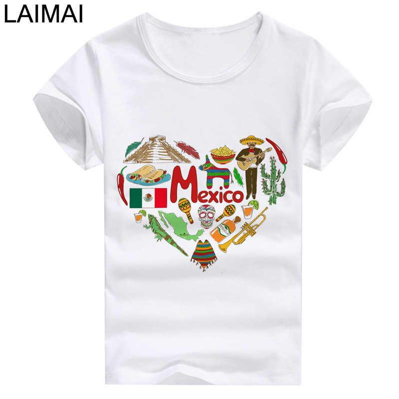 2019 г. летняя футболка с изображением мексиканского жареного кактуса и  мультяшным принтом aaef0e2e789a2