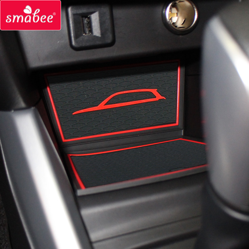 Non-Slip Gate slot cup Mats for SUZUKI VITARA 2016-2020 Anti-slip Accessories Interior Door Pad Rubber mat