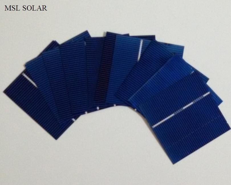 Solar cell 52mmx52mm 0.43W 0.5V High Quality Cells for DIY solar panel and Battery charger 50pcs/Lot. Cutted Solar cell