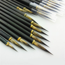 Calligraphy Brushes Mouse Whisker Excellent Quality Calligraphy Brush Traditional Calligraphy Writing Chinese Painting Brush Pen 1piece small regular script calligraphy pen brush chinese traditional painting writing brush artist drawing brush art supplies