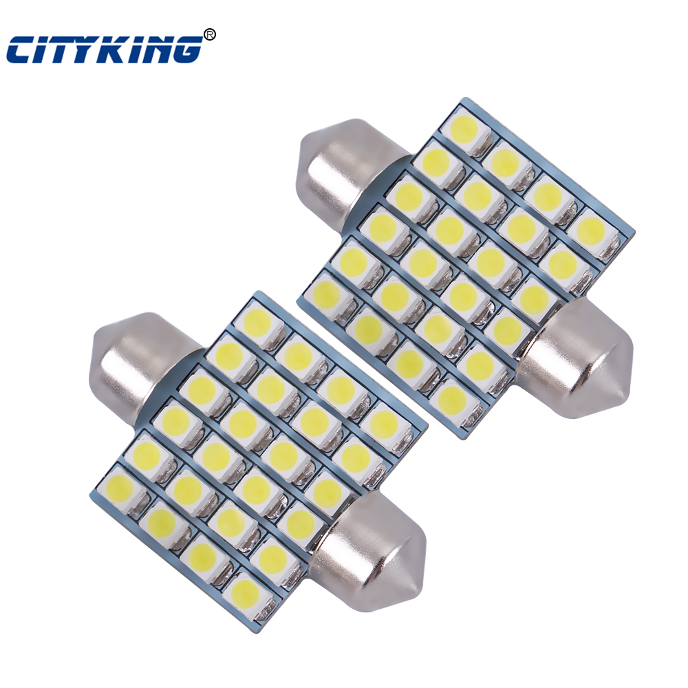 Car Festoon led 36mm 39mm 41mm 31mm 3528 1210 led 24smd LED Festoon light led Interior