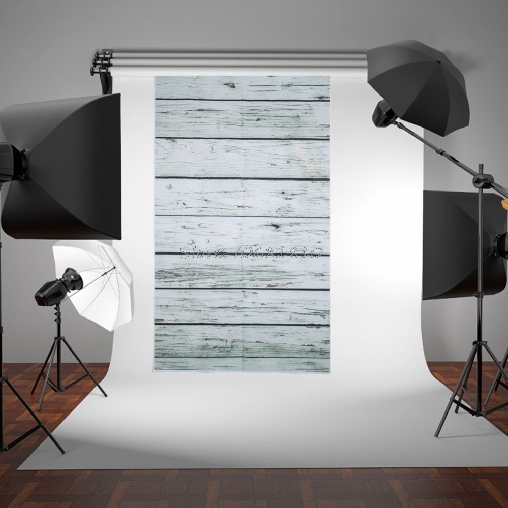 5X3FT Wood Wall Photography Backdrop Photo Background Studio Props New #R179T#Drop Shipping
