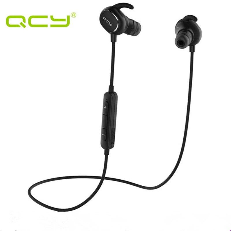QCY QY19 Sport Bluetooth Écouteurs Sans Fil Sweatproof Casque Musique Stéréo Écouteurs Bluetooth V4.1 avec Microphone