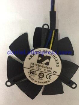 Original GTX1050/1050Ti Carte Graphique Ventilateur FS1250-S2053A 12 V 0.19A