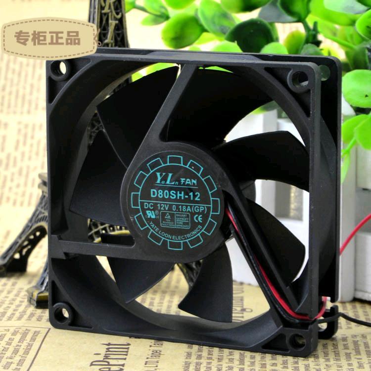 SUPERRED CHA6012DBN-A DC12V 0.28A 6025 60mm 60x60x25mm 3Wire 3Pin Cooling Fan