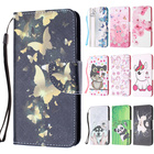 For iPod Touch 6 Case on Touch 5 6 Coque PU Leather Book Flip Wallet Cover Protective Case for apple ipod touch 6 accessories
